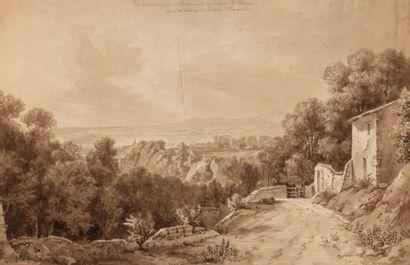 Jean-Jacques CHAMPIN (1796-1860).  Vue de...