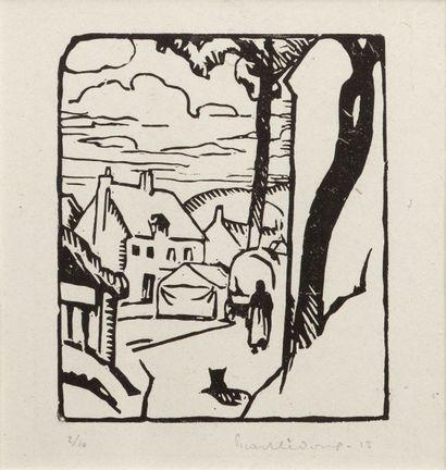 Charles PICART LE DOUX (1881-1973).  Ruelle...