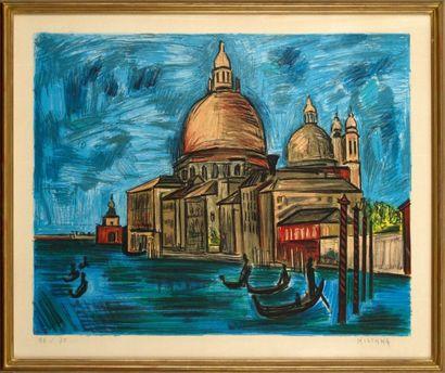 Isis KISHKA (1908-1973)  Venise  Lithographie...