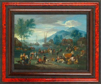 Balthasar BESCHEY (Anvers 1708 - 1776) attribué...