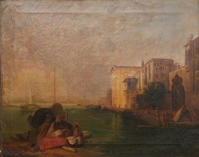 Ecole vénitienne de la 2ème moitié du XIXème...