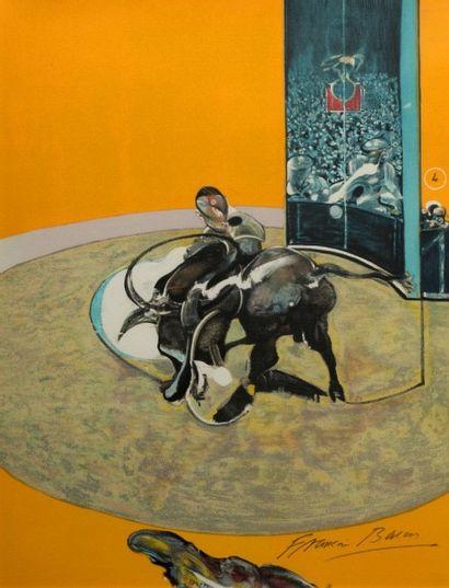 Francis BACON (1909-1992).  Miroir de la...