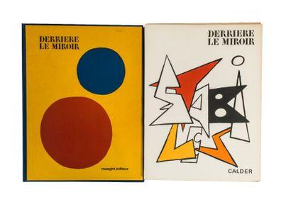 CALDER - DERRIERE LE MIROIR. N° 248. Paris,...