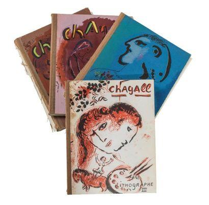 CHAGALL (Marc). Chagall lithographe Paris,...