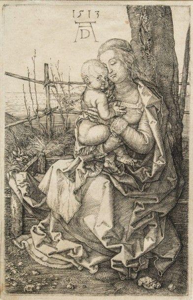 Albrecht DURER (1471-1528)  La Vierge à l'arbre....