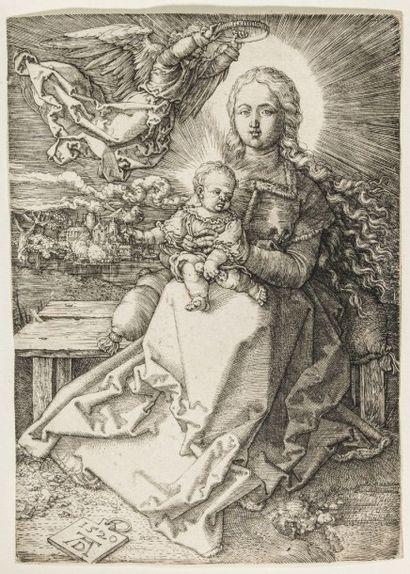 Albrecht DURER (1471-1528)  La Vierge couronnée...