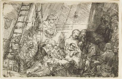 Harmensz VAN RIJN REMBRANDT (1606-1669)  La...