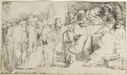 Harmensz VAN RIJN REMBRANDT (1606-1669)  Le...