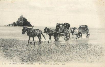 47 CARTES POSTALES MANCHE : Le Mont Saint...