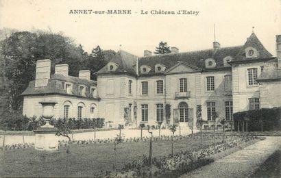 706 CARTES POSTALES REGION PARISIENNE : Dépts...
