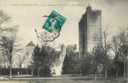 291 CARTES POSTALES EURE & LOIR : Lettres...
