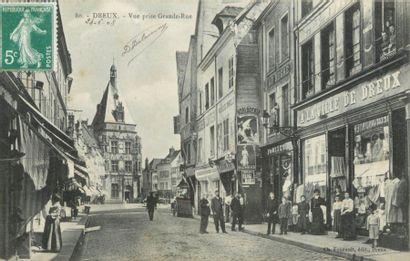 201 CARTES POSTALES EURE & LOIR : La Ville...