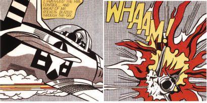 1 AFFICHE : Lichtenstein Roy - Whaam 1967....