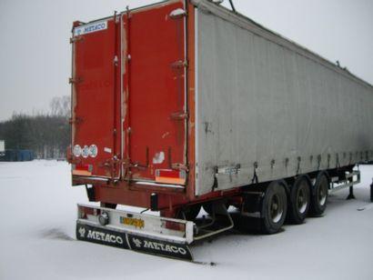 Remorque MATECO PV 7 450 PTAC