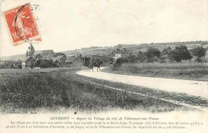268 CARTES POSTALES YONNE : Villes, qqs villages,...