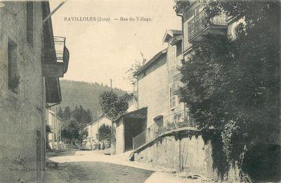 135 CARTES POSTALES JURA : Villes, qqs villages,...