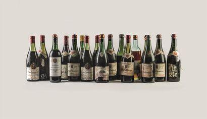 1 bouteille de Château des Pechers, M. Lacoste...