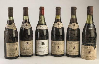 2 bouteilles de Vosne Romanée, Jaboulet -...