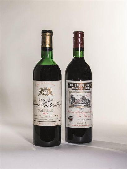 1 bouteille de Château Haut-Batailley, Pauillac...