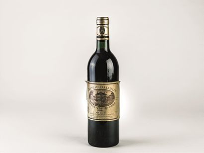 7 bouteilles de Château Batailley, grand...