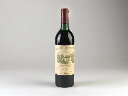 1 bouteille de Château Carbonnieux, Grand...
