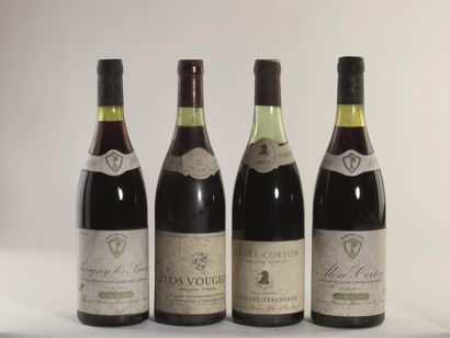 2 bouteilles de Clos Vougeot, Aujoux propriétaire,...