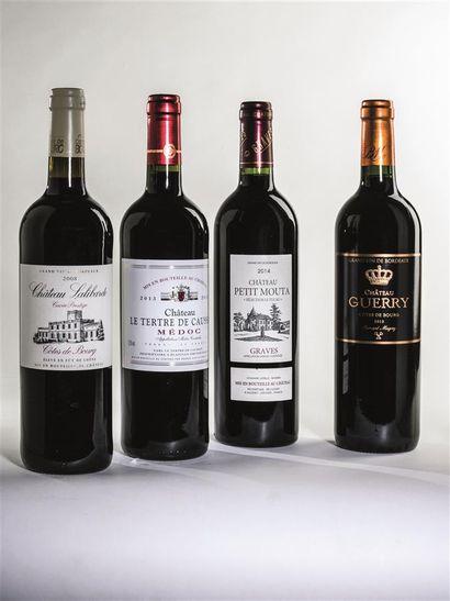2 bouteilles de Château Lalibarde, Côtes...
