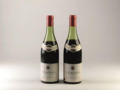 3 bouteilles de Corton, Nuits Saint Georges,...