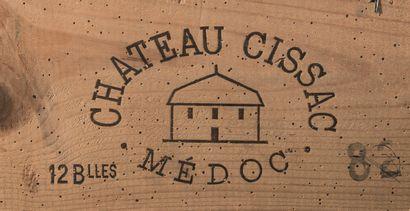 10 bouteilles de Château Cissac, Cru Bourgeois,...