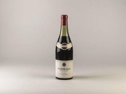 2 bouteilles de Pommard, Nuits Saint Georges,...