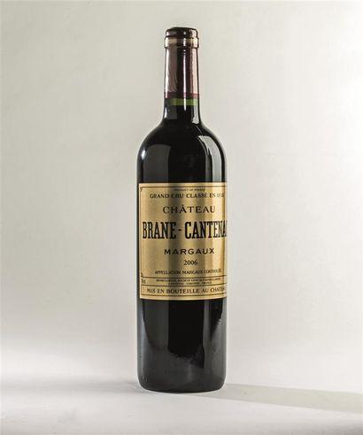 6 bouteilles de Château Brane-Cantenac, Margaux,...