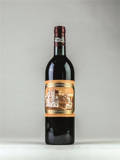 1 bouteille de Ducru Beaucaillou, Saint Julien,...