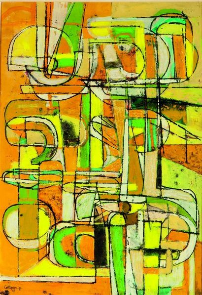 Georges COLLIGNON (1923-2002). Composition...