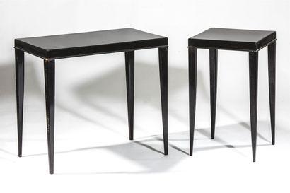 Michel ROUX-SPITZ (1888-1957). Deux tables...