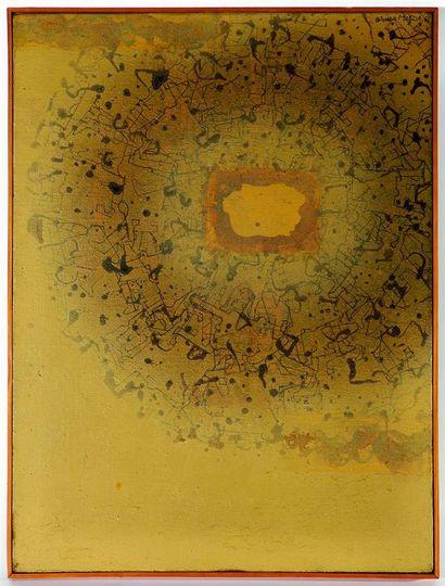 Josaku MAEDA (1926-2007). Constellation humaine....