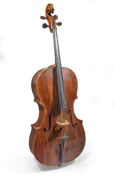 Violoncelle, époque XVIIIème siècle, probablement...