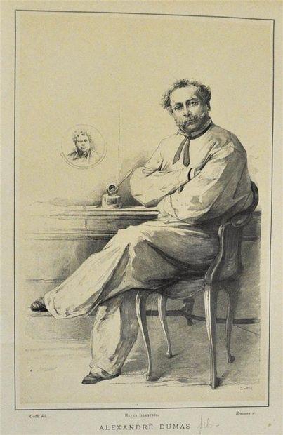 Alexandre Dumas fils. Rousseau Sc, Guth Del...