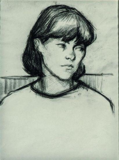 Jacques BUREL (1922-2000). Yvette, Paris,...