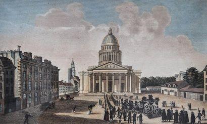 D'après Courvoisiers, Vue du Panthéon, prise...