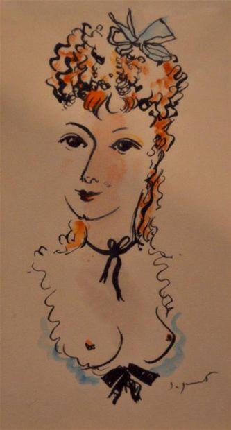 DIGNIMONT André (1891-1965). La fille au...