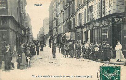13 CARTES POSTALES PARIS : Sélection - 11ème...