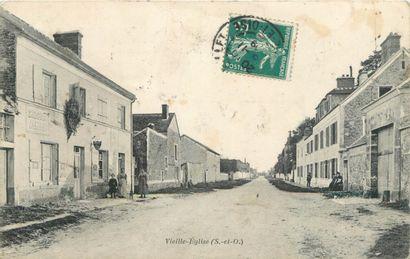 67 CARTES POSTALES YVELINES : Vieille Eglise-5cp,...