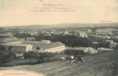 47 CARTES POSTALES TARN : La Ville de Castres....