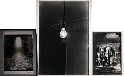 "TAHARA Keiichi (1951) ""Natures mortes"" Photographies, tirages argentiques, d'un..."