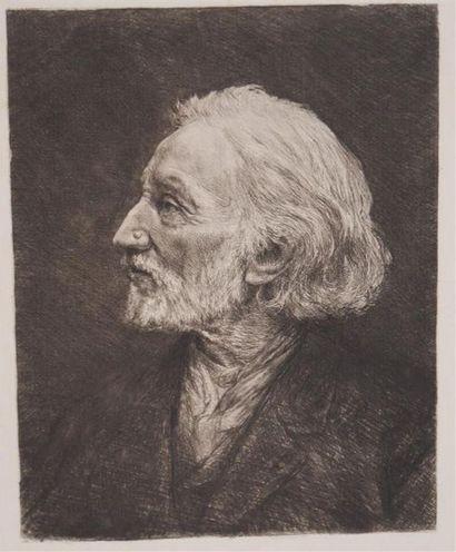 JACQUES Frédéric (né en 1975). Portrait de...