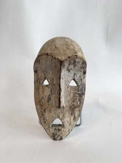 Masque Lega, RDC. Zaïre. 15 x 8,5 cm