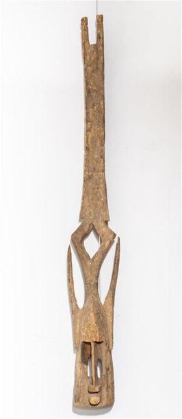 Tête de masque Kanaga. Dogon. Mali. Haut.:...