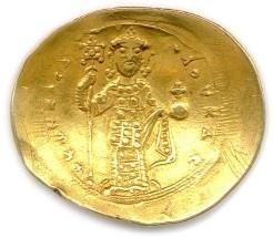 CONSTANTIN X DUCAS 25 décembre 1059 - 21 mai 1067 L'empereur debout de face. R/....