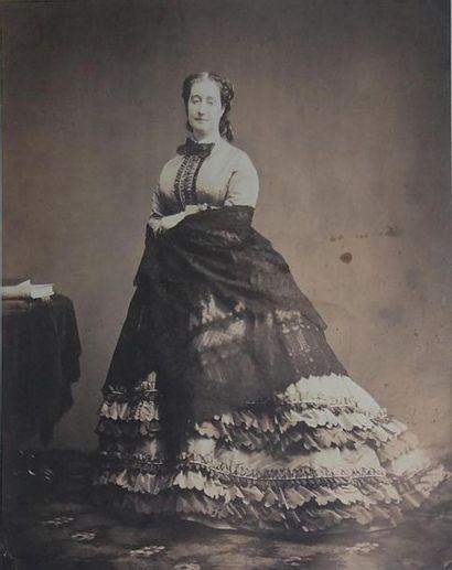 Édouard DELESSERT (1828-1898) Portrait de...