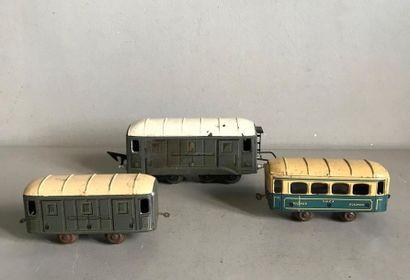 JEP Ensemble de wagons pour train électrique...